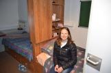 Jenna in her room
