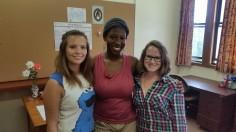 Jenna, Tebogo and Nicola