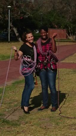Jenna and Tebogo