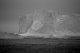 Iceberg sighted on the journey to Antarctica