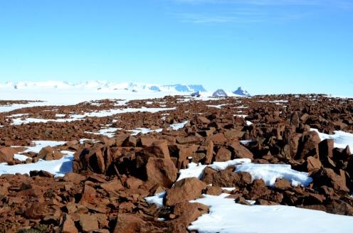 Borgmassivet seen from Slettfjell