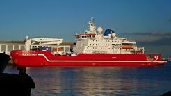 S.A. Agulhas II in Cape Town harbour